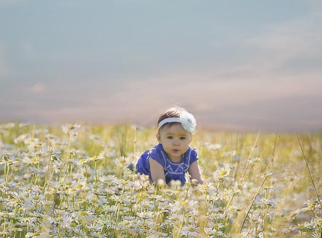 Τα παιδιά είναι λουλούδια!