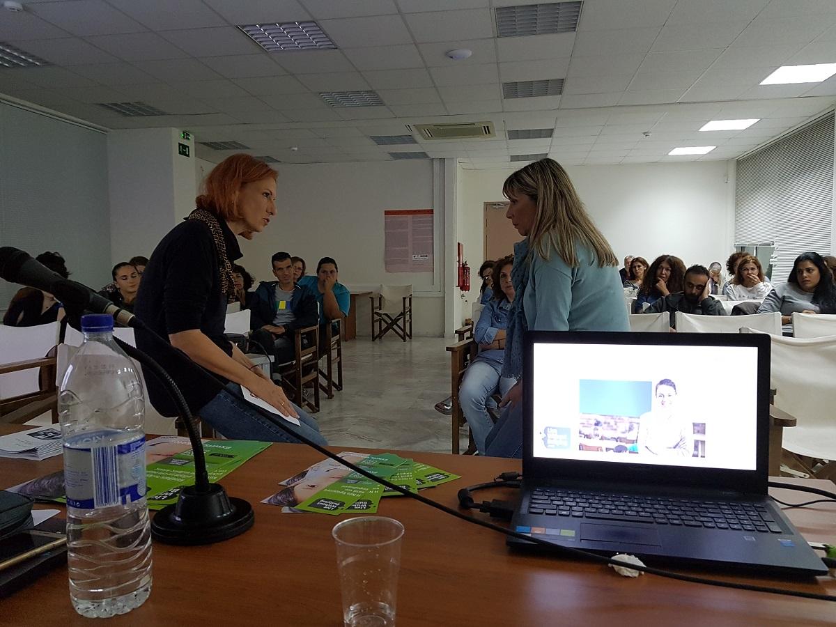 Εκπαιδευτικές δράσεις του Live Without Bullying στην Κρήτη στις 22 και 23 Οκτωβρίου