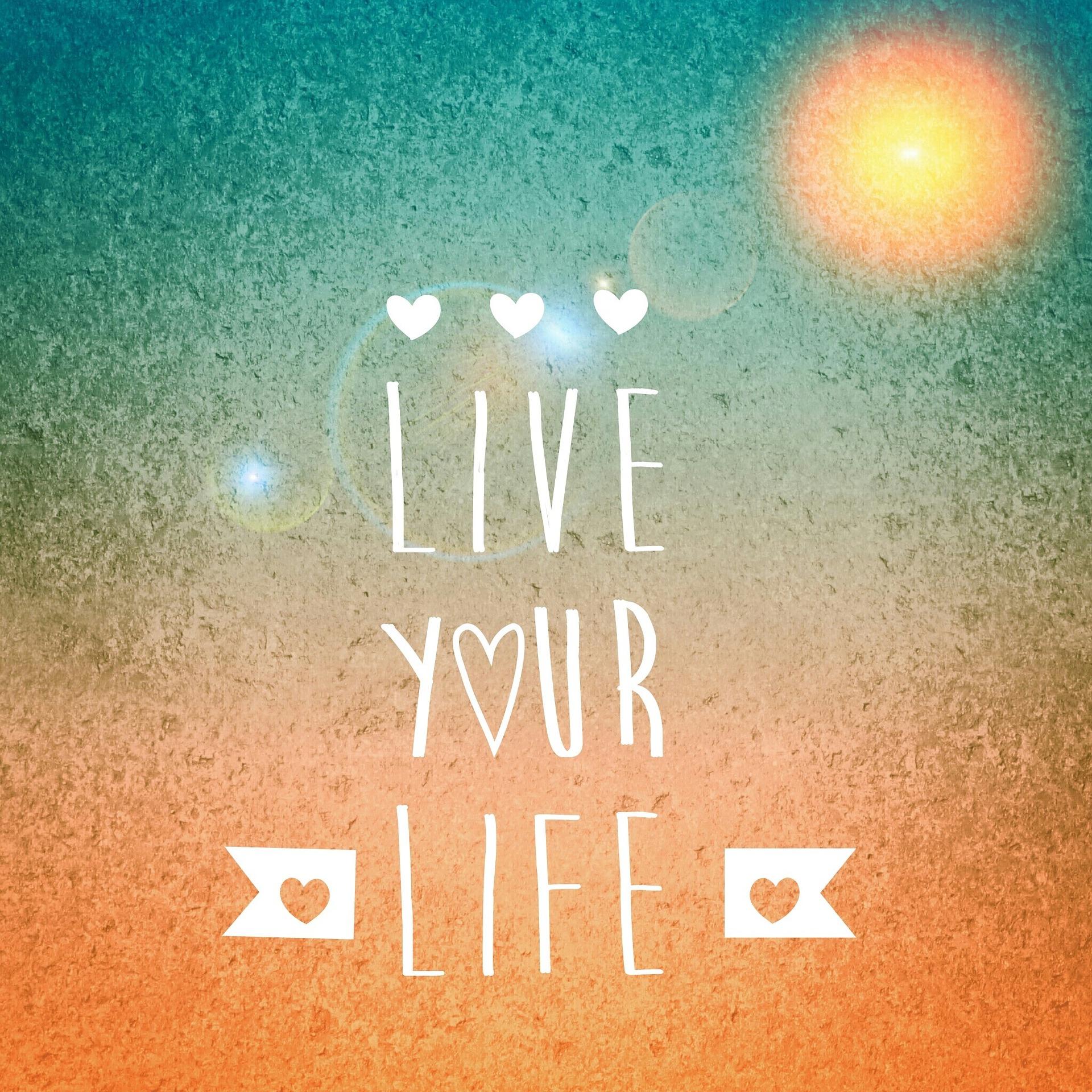 Ο καθένας ας ζήσει την ζωή του όπως επιλέγει και επιθυμεί