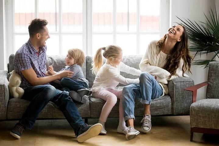 Γονείς με παιδιά